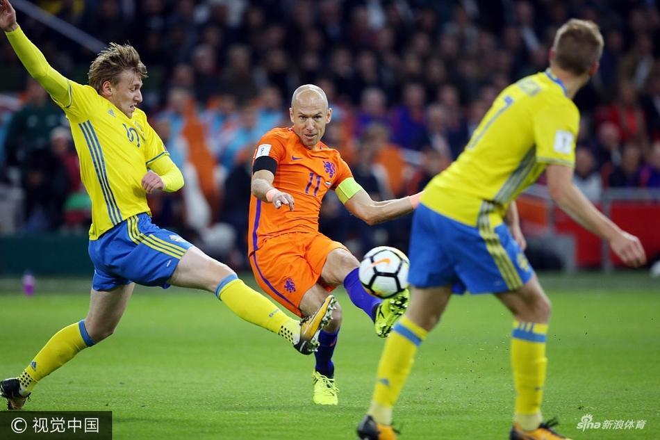 荷兰队无缘2018年世界杯 罗本悲情告别 再见那一抹橙红